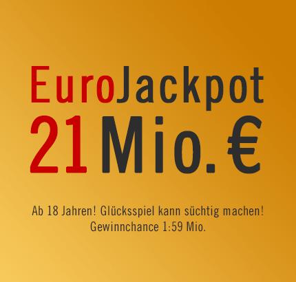 Frauentagsgeschenk? 21 Mio. € EuroJackpot