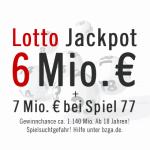 Krass: 6 Mio. € im Lotto & 7 Mio. € im Spiel 77 Jackpot