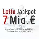 7 Mio. €: Lotto am Mittwoch, 27.03.2013