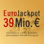 Rekord-EuroJackpot am 05.04.2013: 39 Mio. €