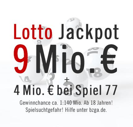 aktueller jackpot 6 aus 49