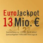 13 Mio. € EuroJackpot, 04.05.2013
