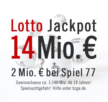 Lotto Jackpot 14 Mio. €, 04.05.2013